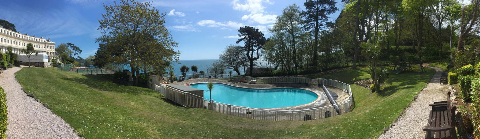 Swimming Pool at The Osborne Hotel Torquay Devon