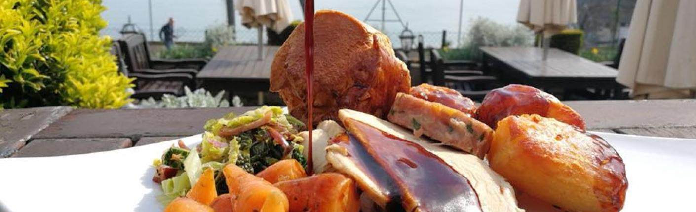 Sunday Roast Alfresco at the Osborne Hotel Torquay