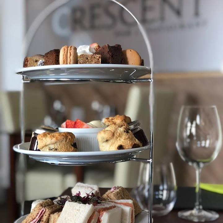 Afternoon Tea at The Crescent Restaurant Torquay